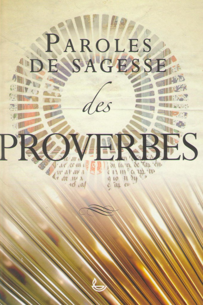 image PAROLES DE SAGESSE DES PROVERBES