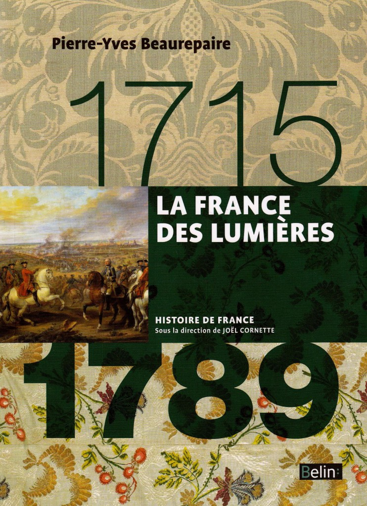 image FRANCE DES LUMIERES (1715-1789) (LA) - VERSION COMPACTE