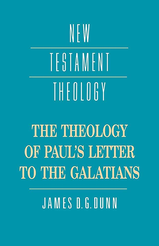 image THE THEOLOGY OF PAUL'S LETTER TO THE GALATIANS
