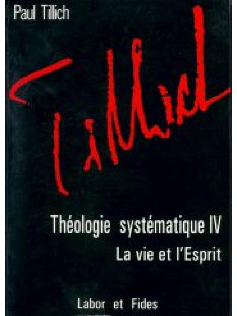 image THEOLOGIE SYSTEMATIQUE - IV