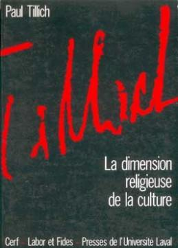 image DIMENSION RELIGIEUSE DE LA CULTURE (LA)