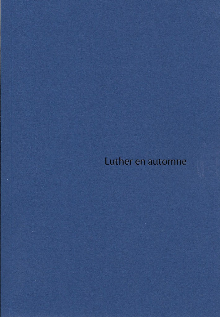 image Luther en automne