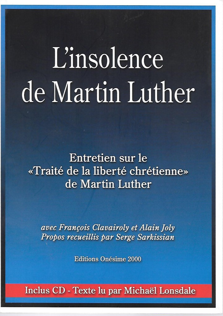 image L'INSOLENCE DE MARTIN LUTHER