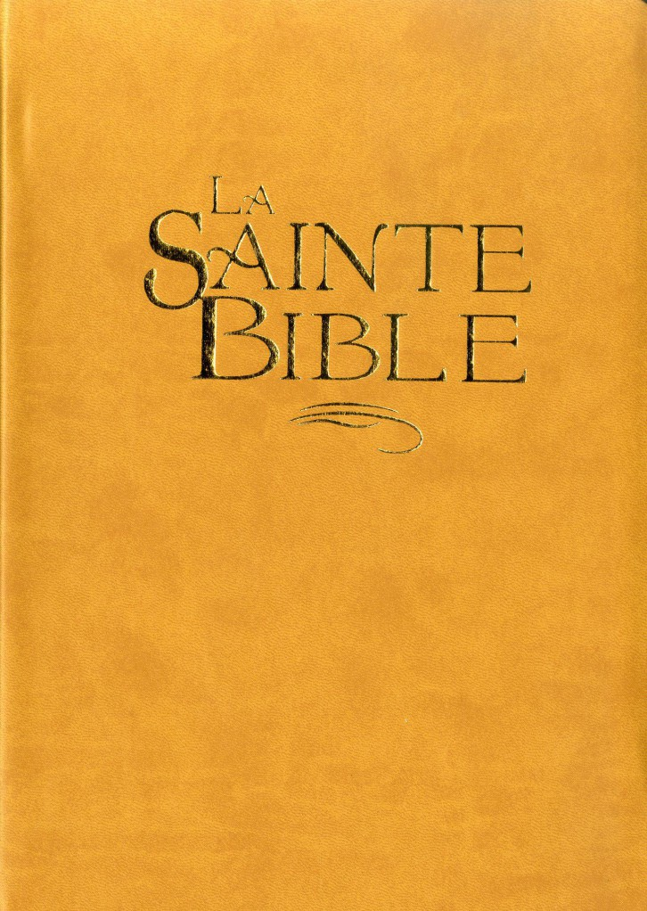 image Bible Segond 1910 - confort ocre, tranche or