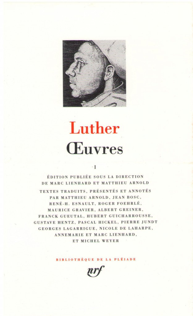 image Luther - Œuvres T1