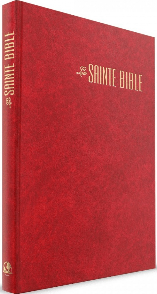 image BIBLE SEGOND 1910 - CONFORT SIMILI RIGIDE BORDEAUX