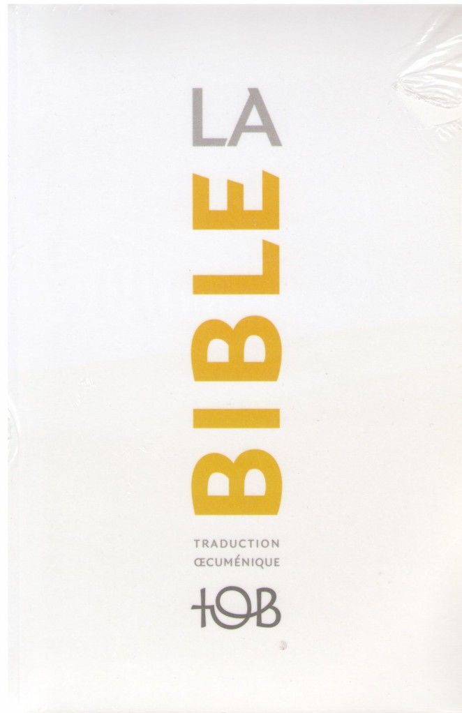 image TOB 2010 - BIBLE 12X18, NOTES ESSENTIELLES